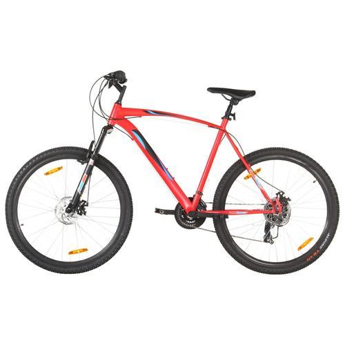 vidaXL Mountainbike 21 Gang 29 Zoll Rad 53 cm Rahmen Rot