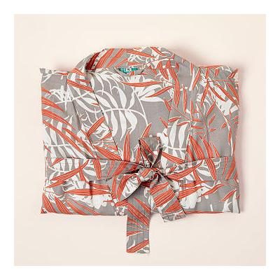 Palm Coral Robe