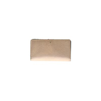 Kate Spade New York - Kate Spade New York Leather Wallet: Pink Solid Bags