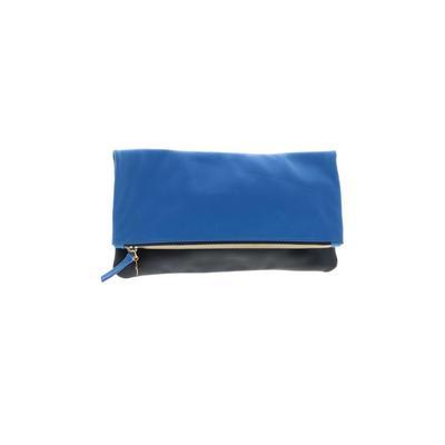 Clare V. Clutch: Blue Color Block Bags