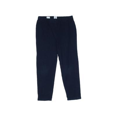 Gap Kids Leggings: Blue Solid Bottoms - Size 8