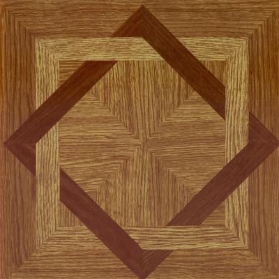 "Tivoli 12"" x 12"" Self Adhesive Vinyl Floor Tile by Achim Home Dcor in Wood Diamond"
