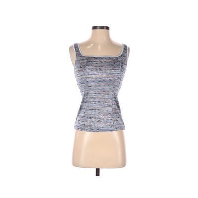 Shear Shapewear Sleeveless Top Blue Square Tops - Used - Size Small