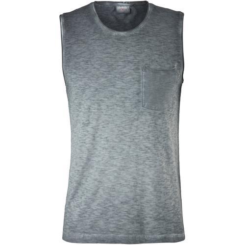 s.Oliver Muskelshirt, ohne Ärmel grau Herren Muskelshirt Muskelshirts Shirts