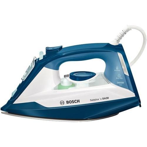 Bosch TDA3024020 Bügeleisen Trocken- & Dampfbügeleisen, Bügeleisen, Blau, Weiss