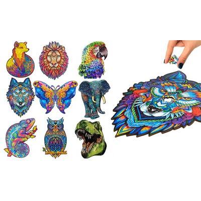 Puzzle animaux en bois A5 : perroquet