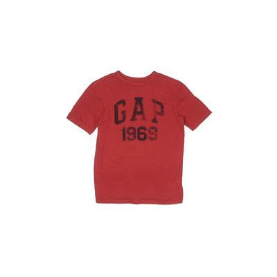 Gap Kids - Gap Kids Short Sleeve T-Shirt: Red Solid Tops - Size Large