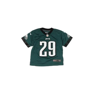 NFL Short Sleeve Jersey: Teal Solid Sporting & Activewear - Size Small