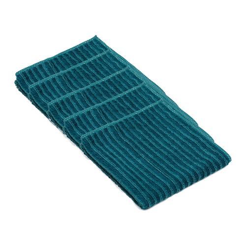 Gözze Mikrofaser Polier- und Geschirrtücher 5er Pack, 30 x 30 cm (petrol)