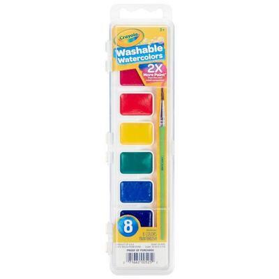 Crayola Nontoxic Washable Watercolors