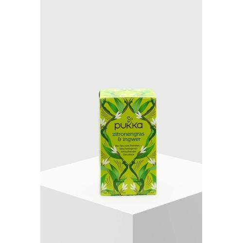 Pukka Tee Zitronengras & Ingwer Bio 20 Teebeutel