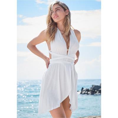 Sports Illustrated Swim™ Wrap Belt Cover-Up Dress Sports Illustrated Swim ™ - White