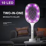 Raquette anti-moustiques électri...