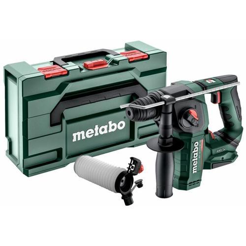 Metabo - 18V Akku Bohrhammer Set BH 18 LTX BL 16 + Absaugset ESA Plus   ohne Akku ohne Ladegerät