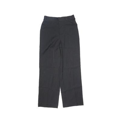 Dress Pants - Elastic: Black Bot...