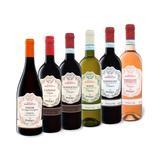 6 x 0,75-l-Flasche Weinpaket Pas...