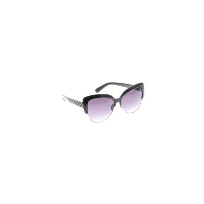 Jessica Simpson Sunglasses: Black Solid Accessories
