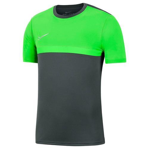 Nike Kinder Fußballshirt Kurzarm, grau/grün, Gr. 147-158