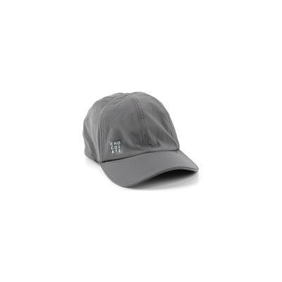 Chocolate Baseball Cap: Gray Accessories