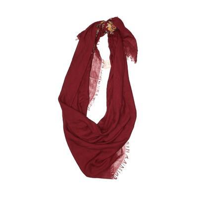R Fashion Apparel Scarf: Burgundy Solid Accessories
