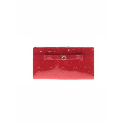 Kate Spade New York - Kate Spade New York Leather Wallet: Red Solid Bags