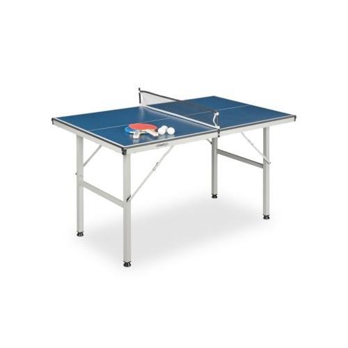 Tischtennisplatte Indoor mit Zubehör blau