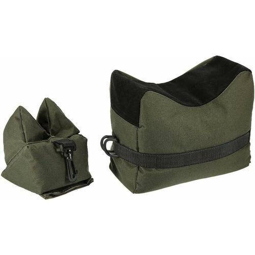 Kissen, Vorder- und Rückenkissen, Kissen, Schießunterstützungsset für Gewehr- / Luftgewehrübungen