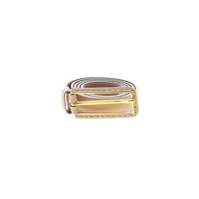Prada - Prada Leather Belt: Tan Solid Accessories - Size Small