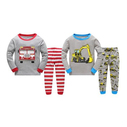 Kinder-Pyjama: Bagger/ Gr. 6-7