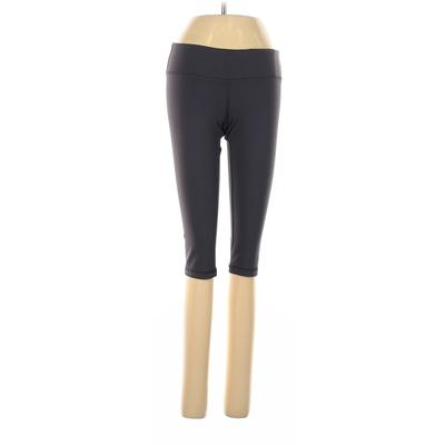 American Apparel Yoga Pants - Low Rise: Gray Activewear - Size Small
