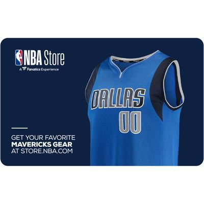 """""""Dallas Mavericks NBA Store eGift Card ($10-$500)"""""""