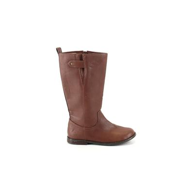 Gap Kids - Gap Kids Boots: Brown Solid Shoes - Size 3