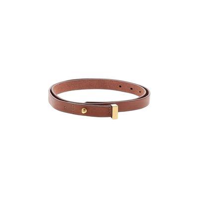 Everlane - Everlane Leather Belt: Brown Accessories - Size Medium