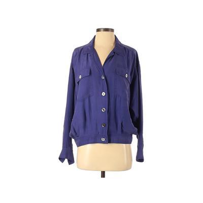 Carole Little Jacket: Purple Sol...