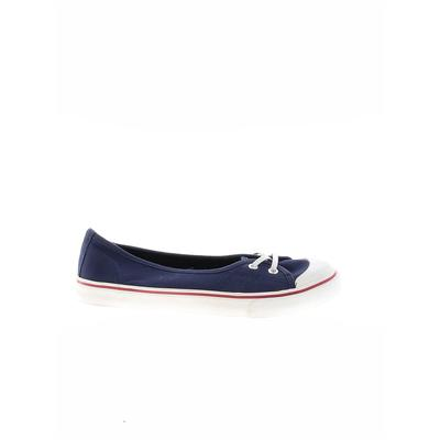 Serra Sneakers: Blue Solid Shoes - Size 9