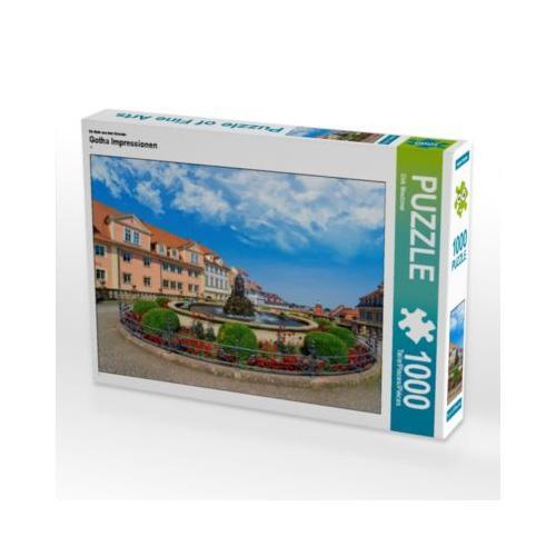 Gotha Impressionen Foto-Puzzle Bild von Dirk Meutzner Puzzle