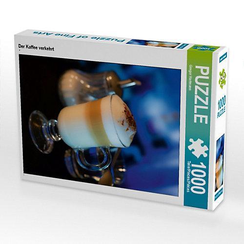 Der Kaffee verkehrt Foto-Puzzle Bild von Gregor Hartmann Puzzle