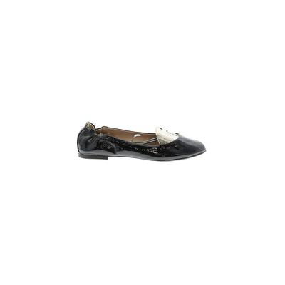 Mossimo Flats: Black Solid Shoes...