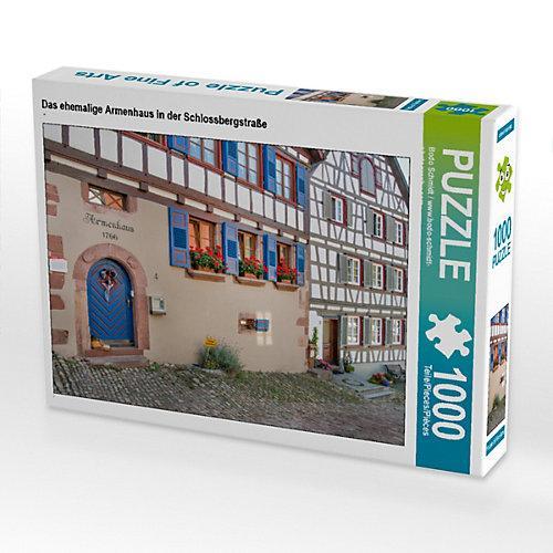 Das ehemalige Armenhaus in der Schlossbergstraße Foto-Puzzle Bild von Bodo Schmidt Puzzle