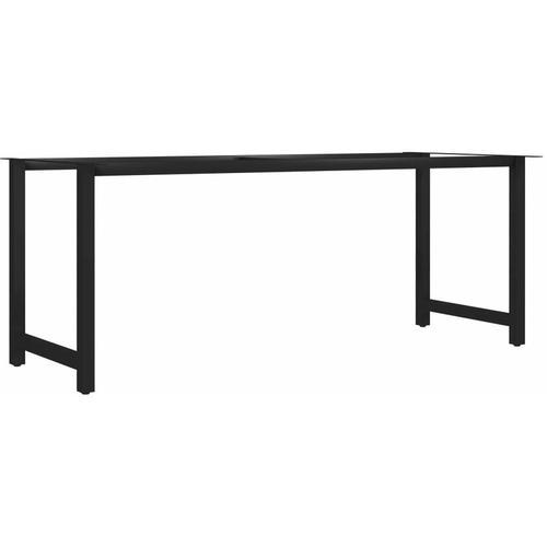 Esstischbeine H-Rahmen 200 x 80 x 72 cm