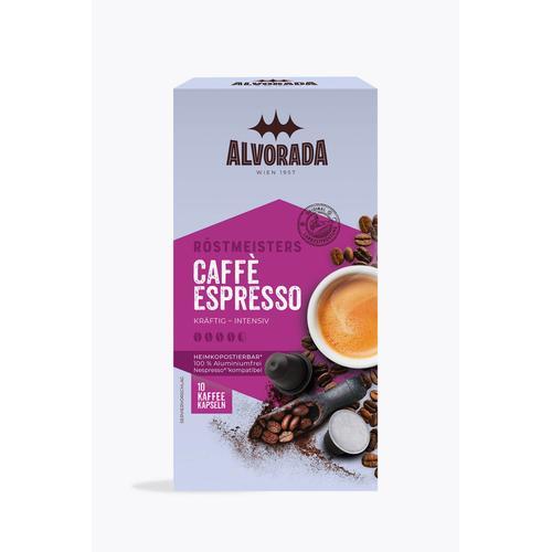 Alvorada Caffé Espresso 10 Kapseln Nespresso® kompatibel