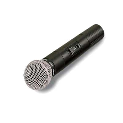 Forbes Industries 6072-WH Wireless Handheld Microphone w/ Transmitter