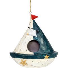Exhart Hanging Sail Boat Bird House