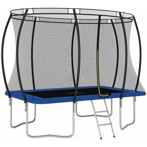 YOUTHUP Trampolin-Set Rechteckig 274×183×76 cm 150 kg