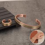 Bracelet en cuivre magnétique po...