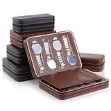 Boîte à montre Portable en cuir ...