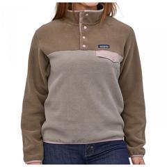 Patagonia - Women's Synchilla Snap-T Pullover - Fleecepullover Gr L grau/braun