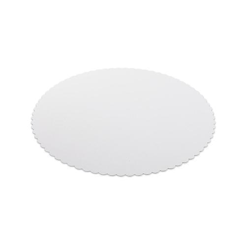 500x Tortenunterlagen aus Frischfaser Pappe Ø 22 cm