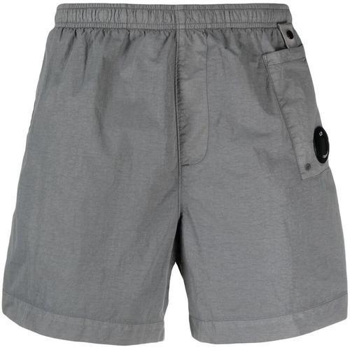 C P Company Shorts mit Knitteroptik