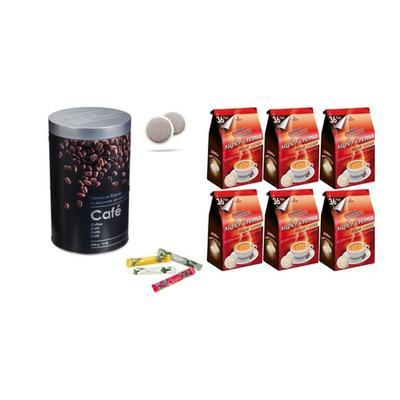 216 dosettes de café Domino Clas...